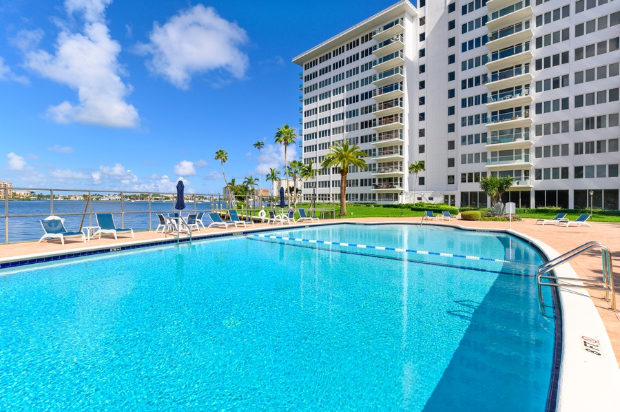 Real Estate Photography - 701 E. Camino Real, #3-C, Boca Raton, FL, 33432 - Pool
