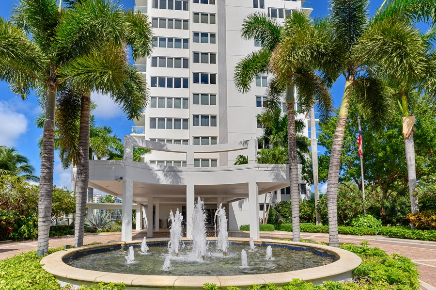 Real Estate Photography - 701 E. Camino Real, #3-C, Boca Raton, FL, 33432 - Front View
