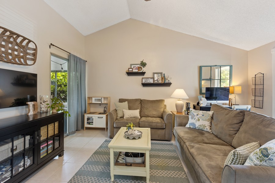 Real Estate Photography - 23271 Cedar Hollow Way, Boca Raton, FL, 33433 - Living Room