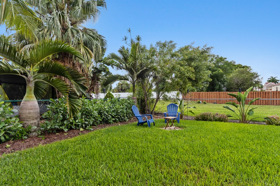 Real Estate Photography - 23271 Cedar Hollow Way, Boca Raton, FL, 33433 - Back Yard