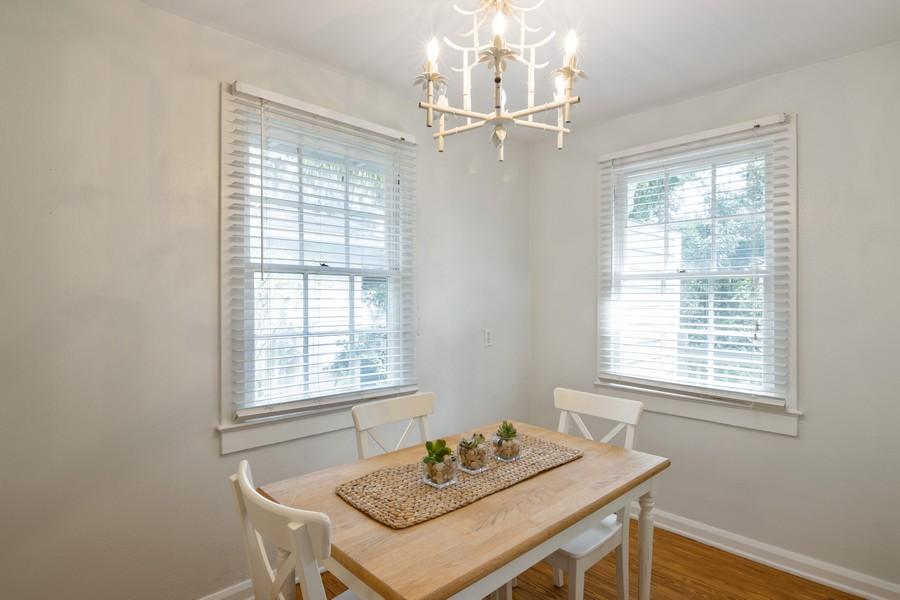 Real Estate Photography - 876 Windsor Drive, Sarasota, FL, 34234 - Dining Room
