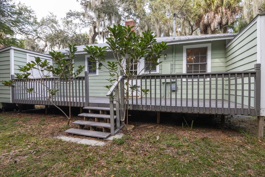 Real Estate Photography - 876 Windsor Drive, Sarasota, FL, 34234 - Rear View