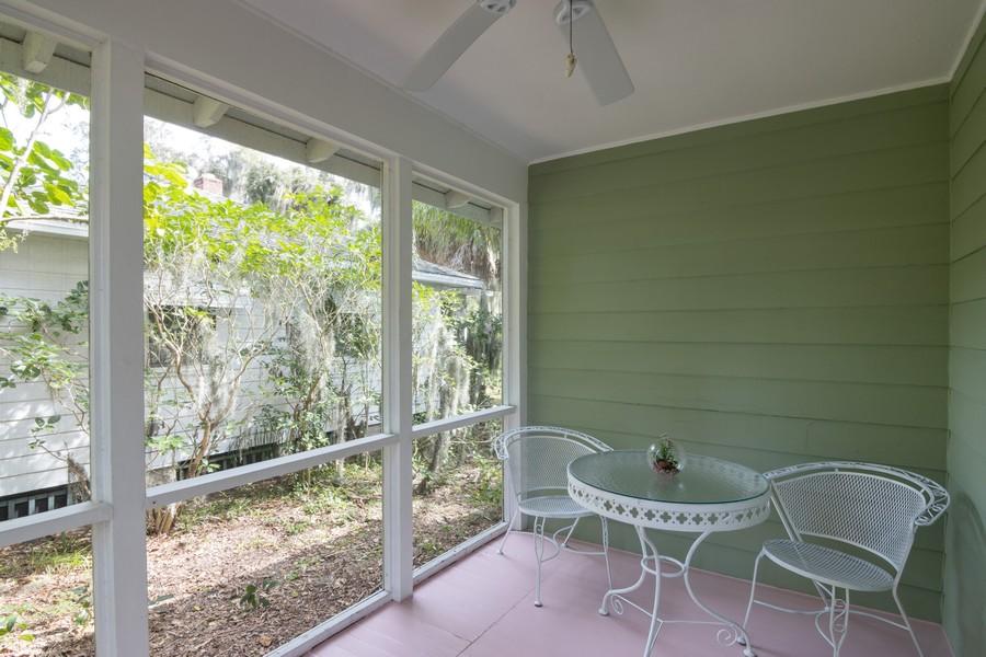 Real Estate Photography - 876 Windsor Drive, Sarasota, FL, 34234 - Porch