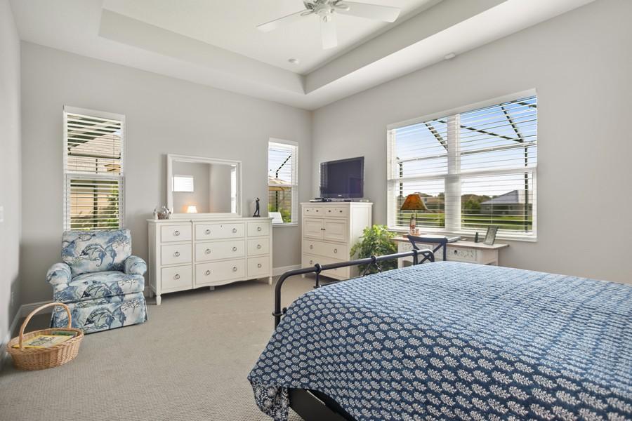 Real Estate Photography - 4123 Midnight Blue Run, Bradenton, FL, 34211 - Master Bedroom
