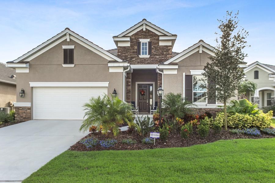 Real Estate Photography - 4123 Midnight Blue Run, Bradenton, FL, 34211 - Front View