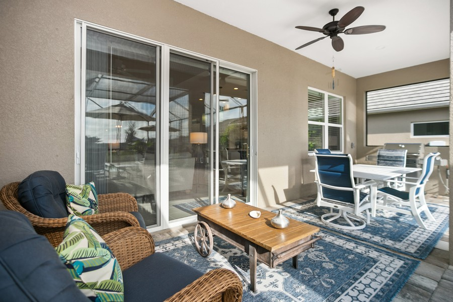 Real Estate Photography - 4123 Midnight Blue Run, Bradenton, FL, 34211 - Patio