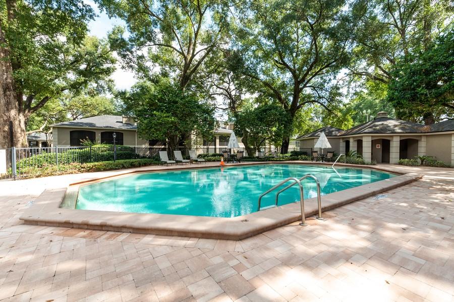 Real Estate Photography - 1055 Kensington Park Dr, Unit 803, Altamonte Springs, FL, 32714 - Pool #2