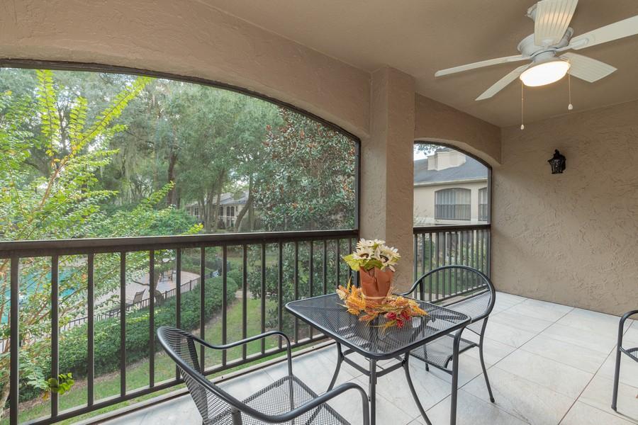 Real Estate Photography - 1055 Kensington Park Dr, Unit 803, Altamonte Springs, FL, 32714 - Balcony