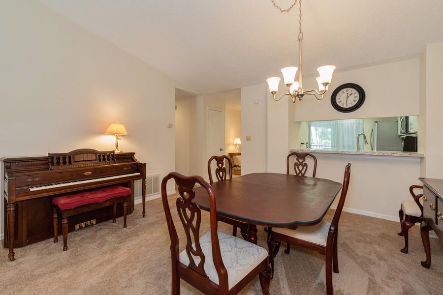 Real Estate Photography - 1055 Kensington Park Dr, Unit 803, Altamonte Springs, FL, 32714 - Dining Room