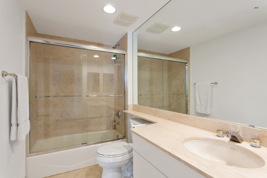 Real Estate Photography - 765 Crandon Blvd, 203, Key Biscayne, FL, 33149 - 3rd Bathroom