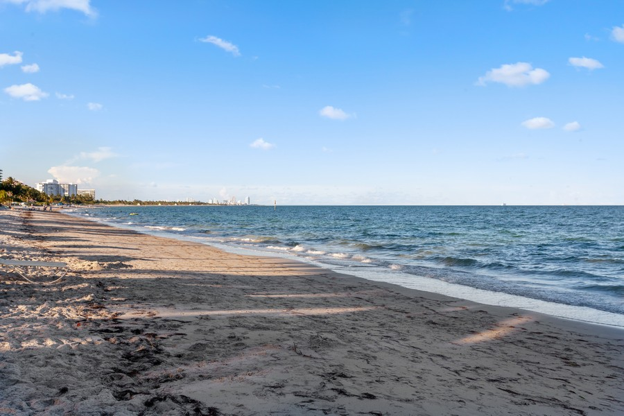 Real Estate Photography - 765 Crandon Blvd, 203, Key Biscayne, FL, 33149 - Beach