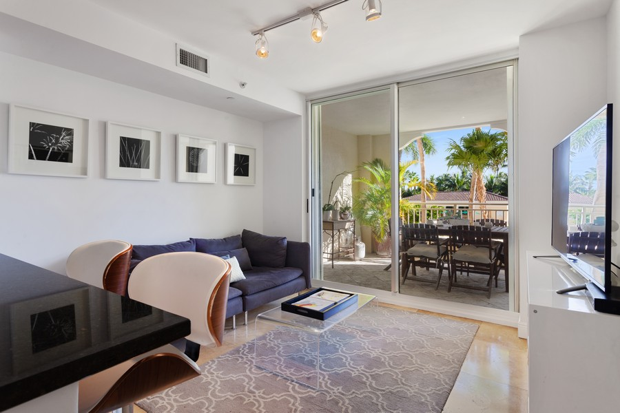 Real Estate Photography - 765 Crandon Blvd, 203, Key Biscayne, FL, 33149 - Family Room