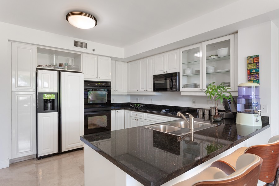 Real Estate Photography - 765 Crandon Blvd, 203, Key Biscayne, FL, 33149 - Kitchen