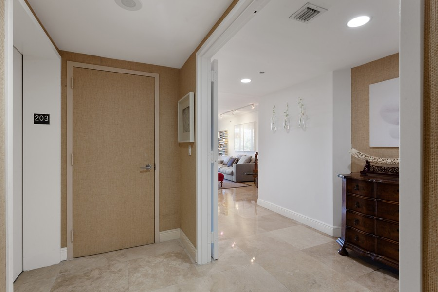 Real Estate Photography - 765 Crandon Blvd, 203, Key Biscayne, FL, 33149 - Elevator