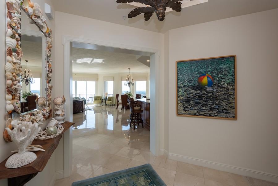 Real Estate Photography - 85 Avenue de la mer, 1106, Palm Coast, FL, 32137 - Enter your home on the ocean