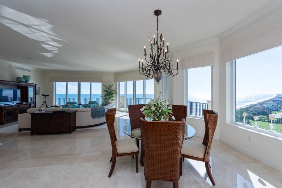 Real Estate Photography - 85 Avenue de la mer, 1106, Palm Coast, FL, 32137 - Dining Area