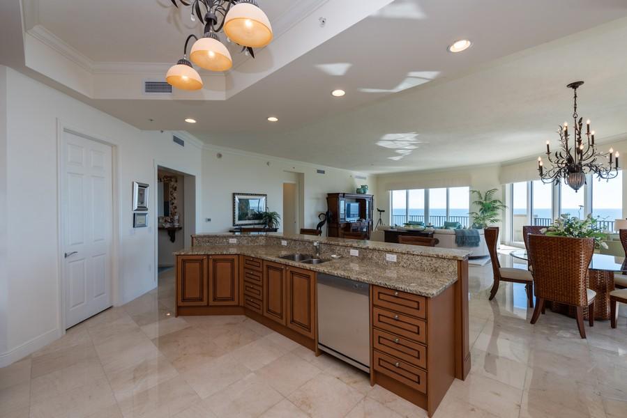 Real Estate Photography - 85 Avenue de la mer, 1106, Palm Coast, FL, 32137 - View from Kitchen