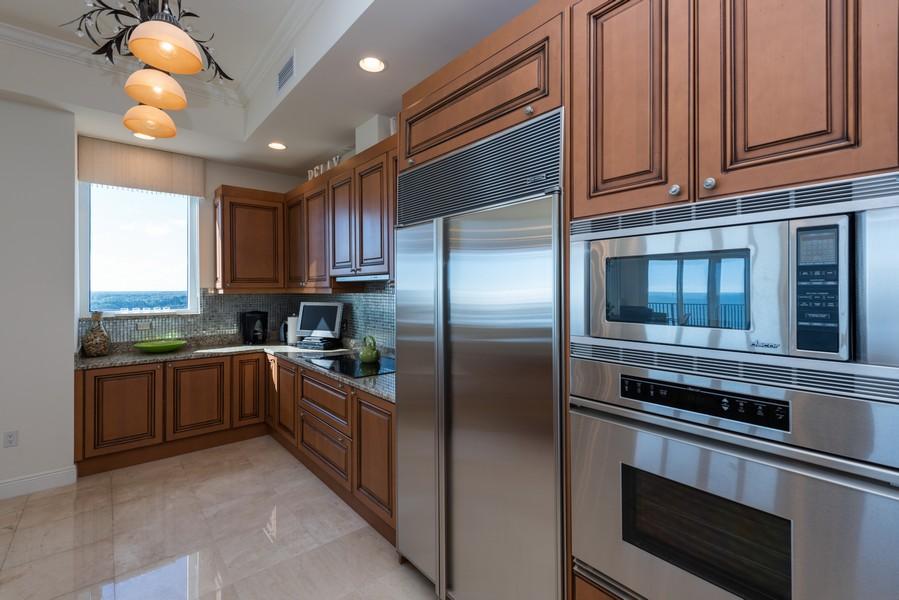 Real Estate Photography - 85 Avenue de la mer, 1106, Palm Coast, FL, 32137 - Kitchen