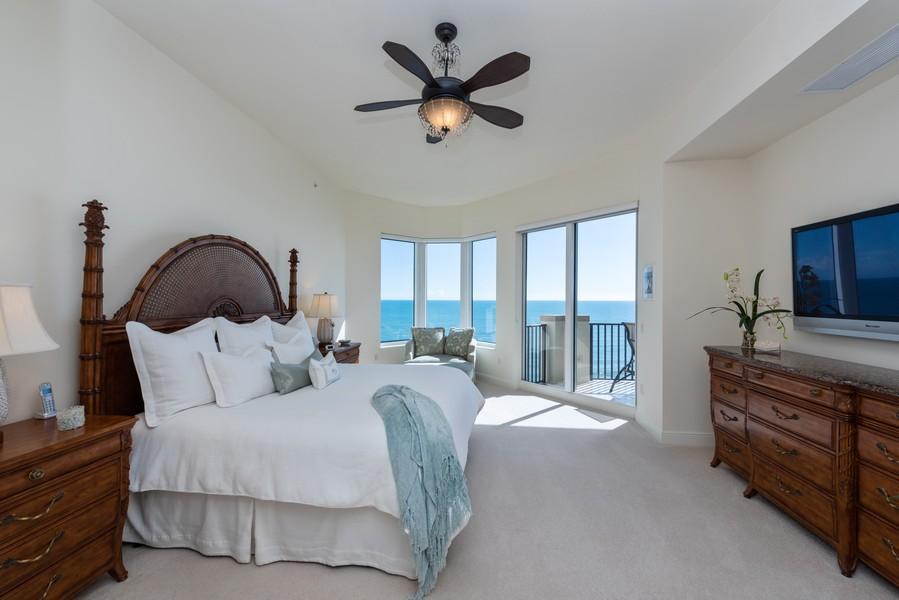 Real Estate Photography - 85 Avenue de la mer, 1106, Palm Coast, FL, 32137 - Master Bedroom