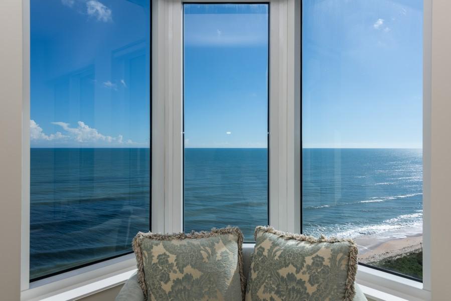 Real Estate Photography - 85 Avenue de la mer, 1106, Palm Coast, FL, 32137 - View from bay window