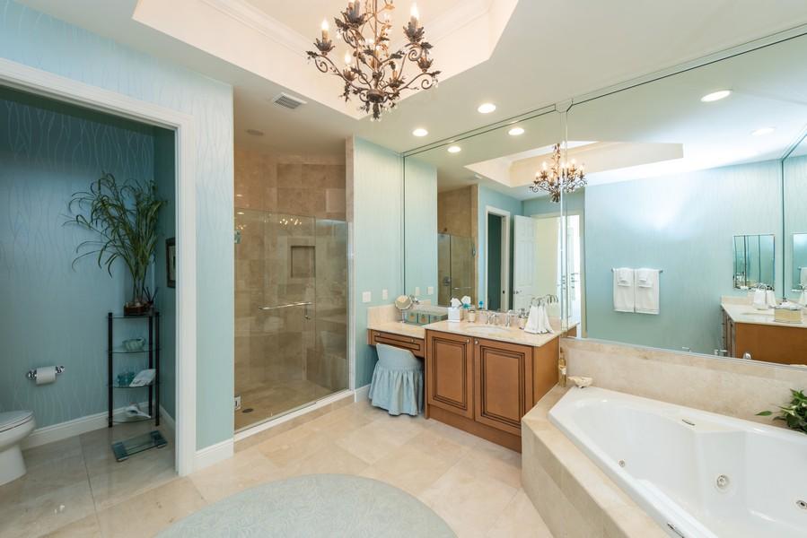 Real Estate Photography - 85 Avenue de la mer, 1106, Palm Coast, FL, 32137 - Master Bathroom