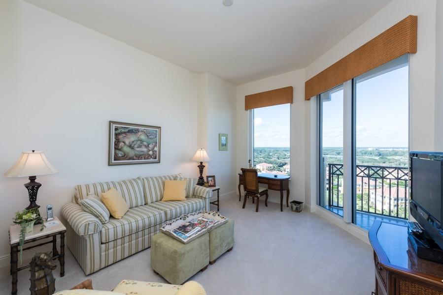 Real Estate Photography - 85 Avenue de la mer, 1106, Palm Coast, FL, 32137 - Guest Bedroom 3/TV Room