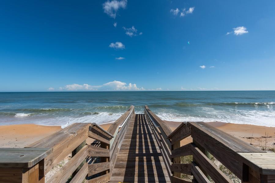 Real Estate Photography - 85 Avenue de la mer, 1106, Palm Coast, FL, 32137 - Tuscany Beach Walkover