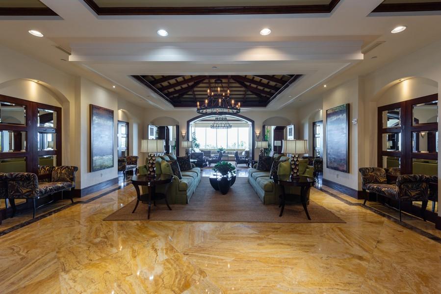 Real Estate Photography - 85 Avenue de la mer, 1106, Palm Coast, FL, 32137 - Tuscany Lobby/Social Room