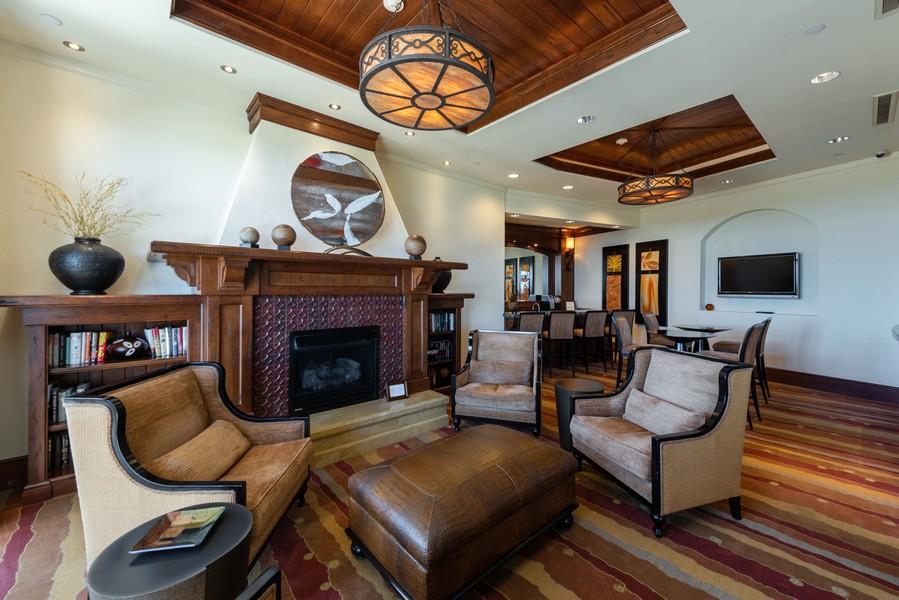 Real Estate Photography - 85 Avenue de la mer, 1106, Palm Coast, FL, 32137 - Tuscany Social/Coffee Area