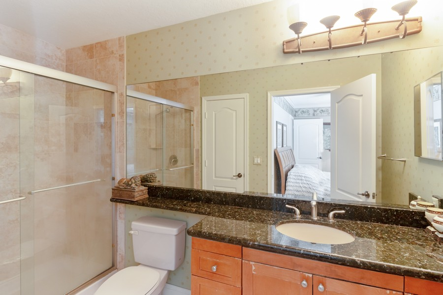 Real Estate Photography - 815 W Boynton Beach Boulevard, 13-201, Boynton Beach, FL, 33426 - Master Bathroom