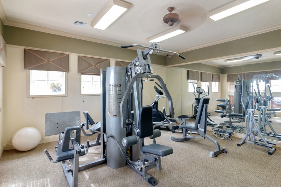 Real Estate Photography - 815 W Boynton Beach Boulevard, 13-201, Boynton Beach, FL, 33426 - Gym