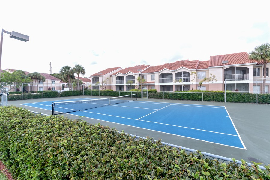 Real Estate Photography - 815 W Boynton Beach Boulevard, 13-201, Boynton Beach, FL, 33426 - Tennis Court