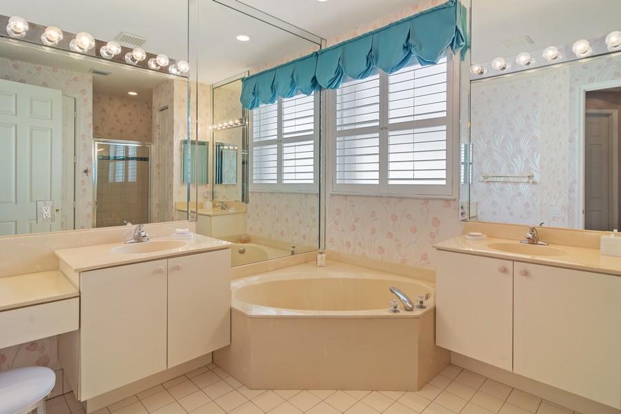 Real Estate Photography - 216 NW Liseron Way, Port St Lucie, FL, 34986 - Master Bathroom