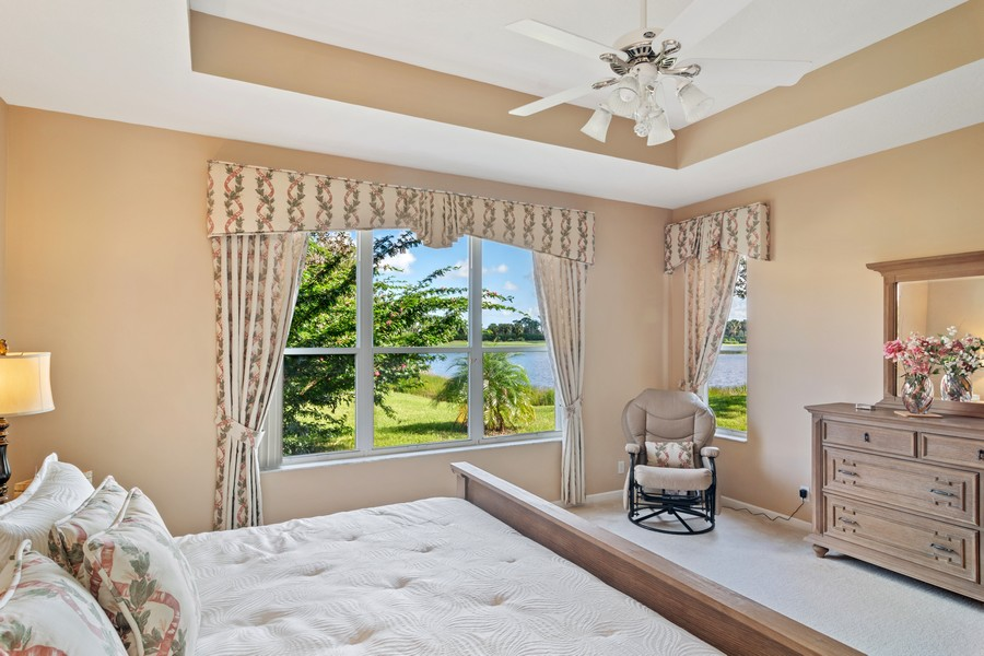 Real Estate Photography - 216 NW Liseron Way, Port St Lucie, FL, 34986 - Master Bedroom