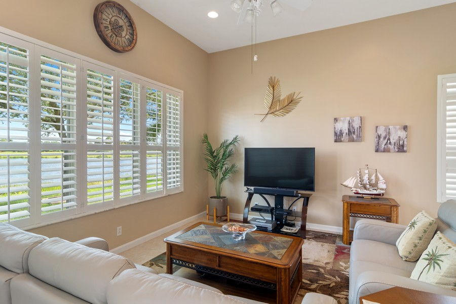 Real Estate Photography - 216 NW Liseron Way, Port St Lucie, FL, 34986 - Family Room