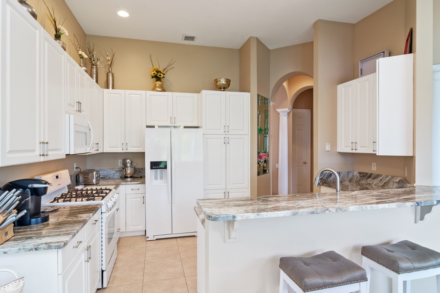 Real Estate Photography - 216 NW Liseron Way, Port St Lucie, FL, 34986 - Kitchen