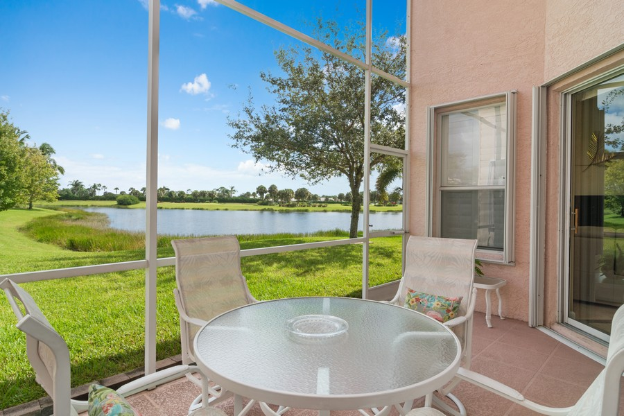 Real Estate Photography - 216 NW Liseron Way, Port St Lucie, FL, 34986 - Patio