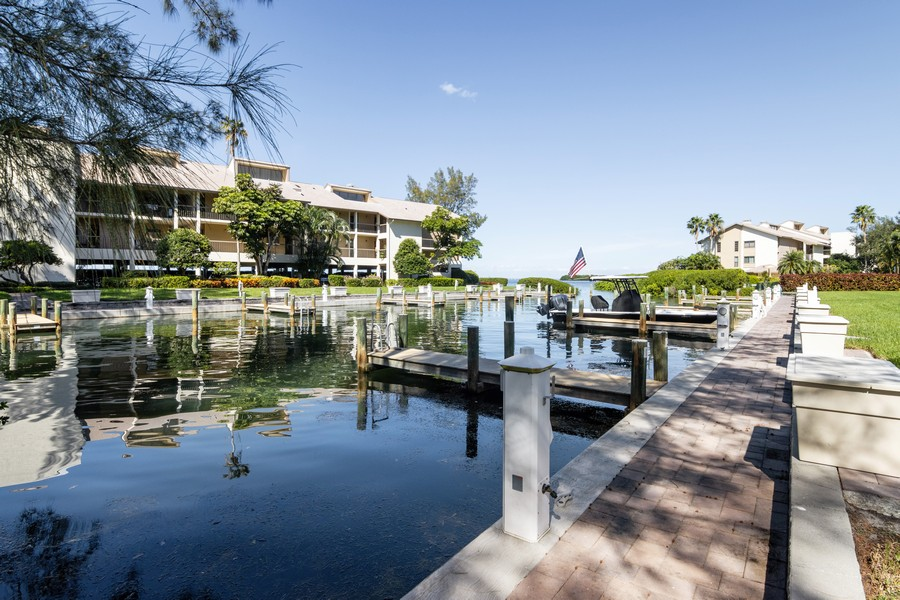 Real Estate Photography - 3905 Mariner's Walk, 815, Cortez, FL, 34215 - Canal View