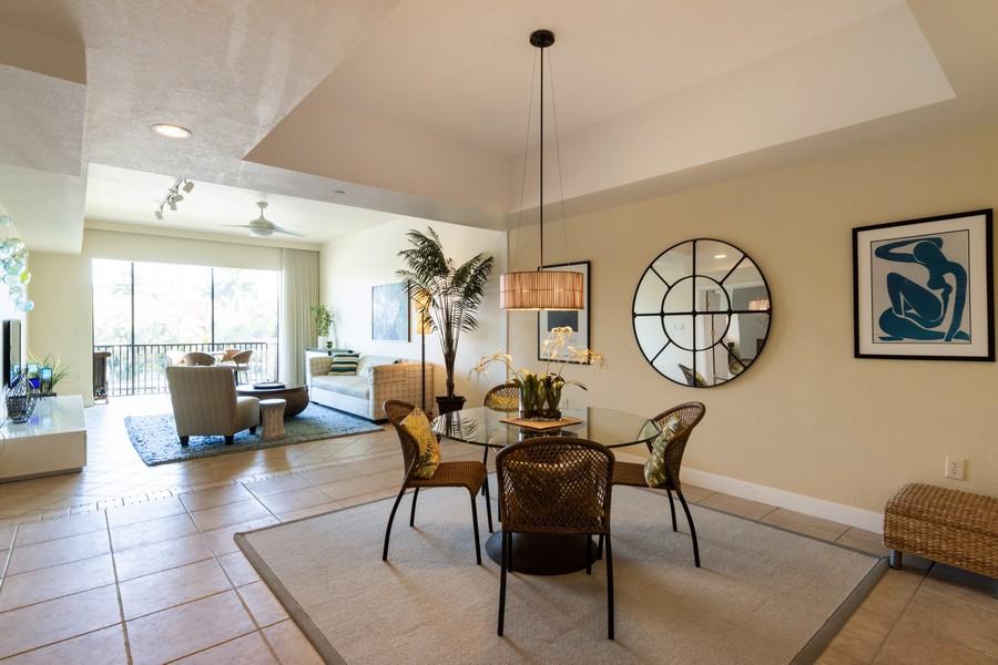 Real Estate Photography - 3905 Mariner's Walk, 815, Cortez, FL, 34215 - Living Room / Dining Room