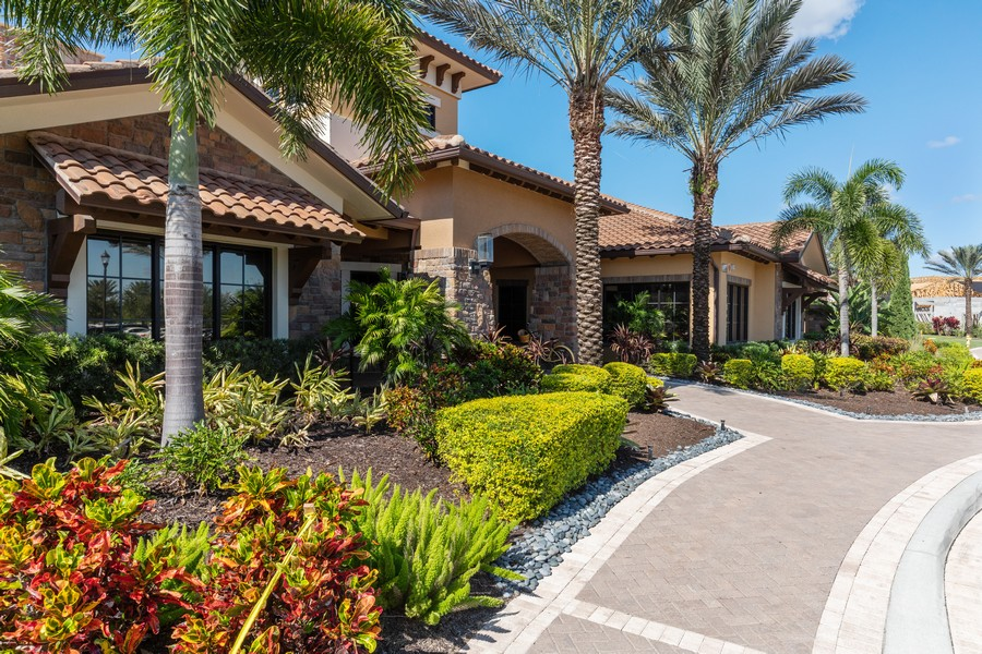 Real Estate Photography - 8756 Bellano Ct, Unit 103, Naples, FL, 34119 - Clubhouse