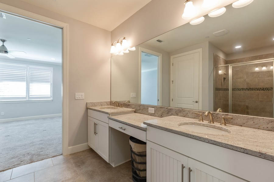 Real Estate Photography - 8756 Bellano Ct, Unit 103, Naples, FL, 34119 - Master Bathroom