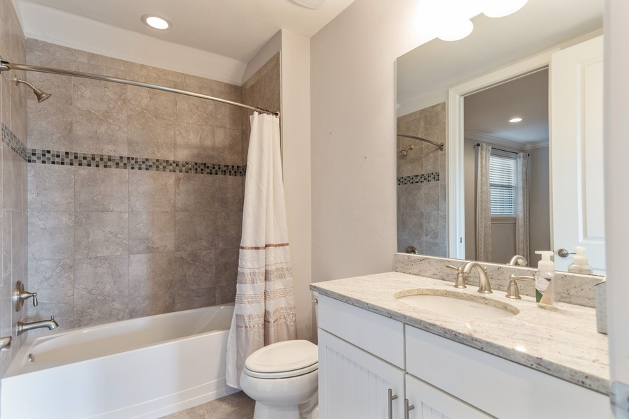 Real Estate Photography - 8756 Bellano Ct, Unit 103, Naples, FL, 34119 - 2nd Bathroom
