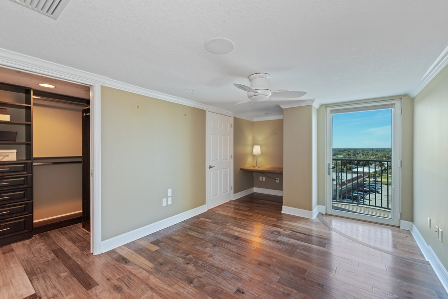 Real Estate Photography - 1323 Highway A1A, 601, Satellite Beach, FL, 32937 - 2nd Bedroom