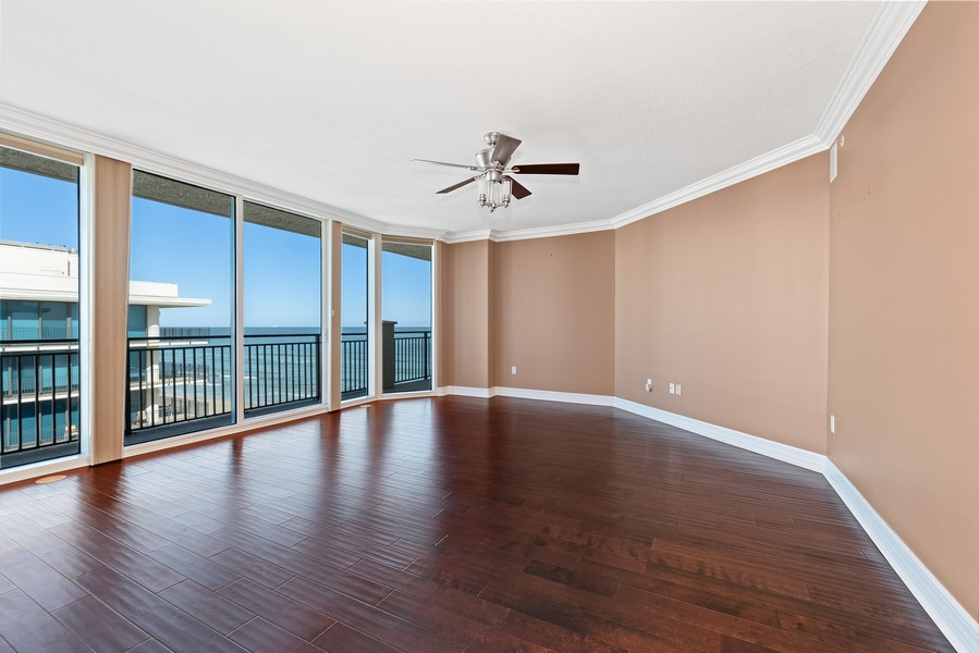 Real Estate Photography - 1323 Highway A1A, 601, Satellite Beach, FL, 32937 - Master Bedroom