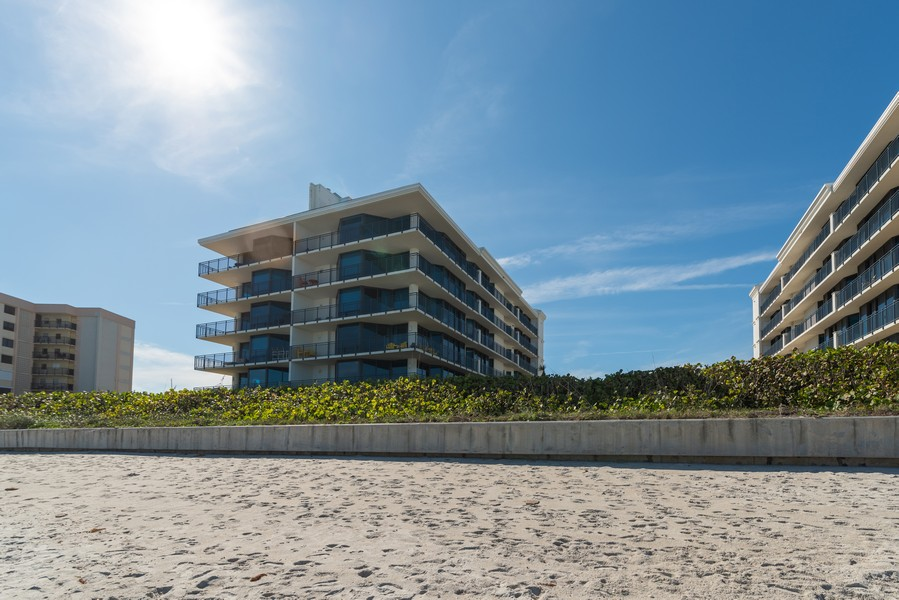 Real Estate Photography - 1323 Highway A1A, 601, Satellite Beach, FL, 32937 - Rear View