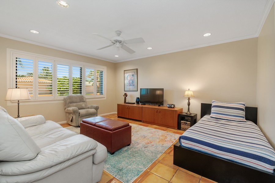 Real Estate Photography - 5210 NE 33rd Ave, Ft Lauderdale, FL, 33308 - 5th Bedroom - Den