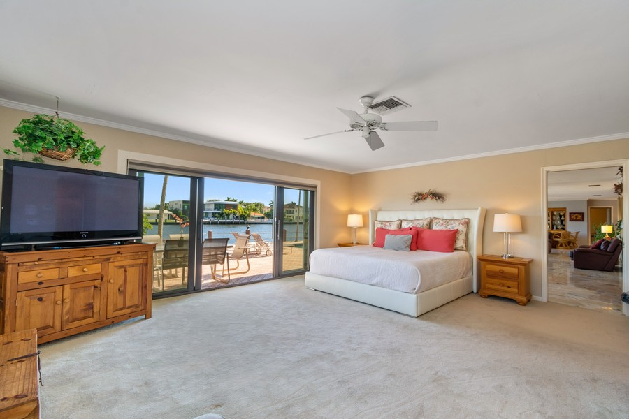Real Estate Photography - 5210 NE 33rd Ave, Ft Lauderdale, FL, 33308 - Master Bedroom