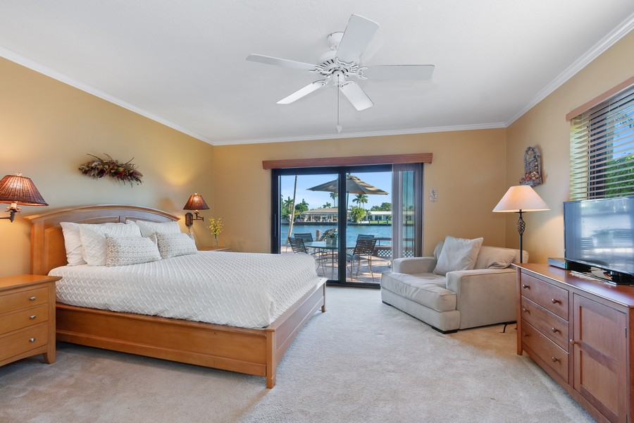 Real Estate Photography - 5210 NE 33rd Ave, Ft Lauderdale, FL, 33308 - Bedroom 2 - Private En Suite