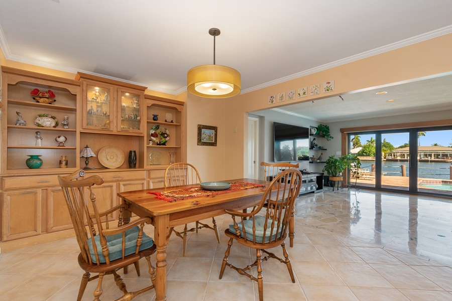 Real Estate Photography - 5210 NE 33rd Ave, Ft Lauderdale, FL, 33308 - Kitchen - Breakfast Room