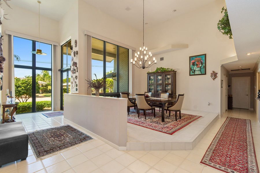 Real Estate Photography - 5210 NE 33rd Ave, Ft Lauderdale, FL, 33308 - Dining Room